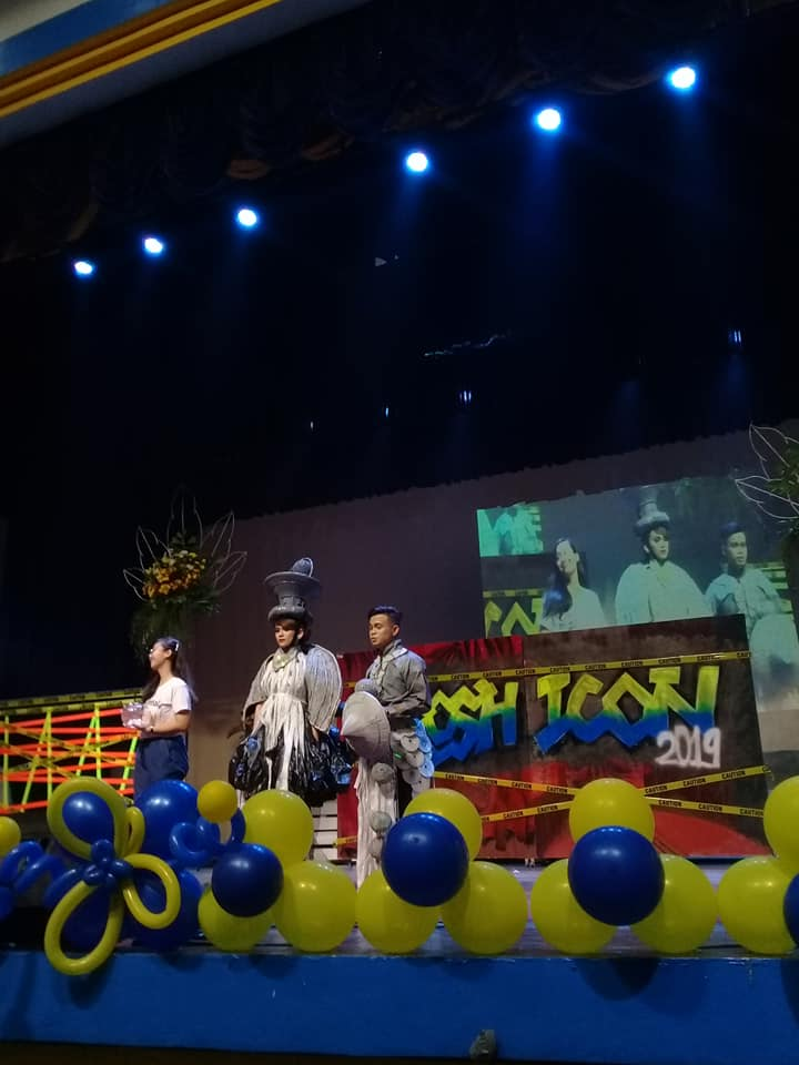 CAS 1st Runner Up in Frosh Icon 2019