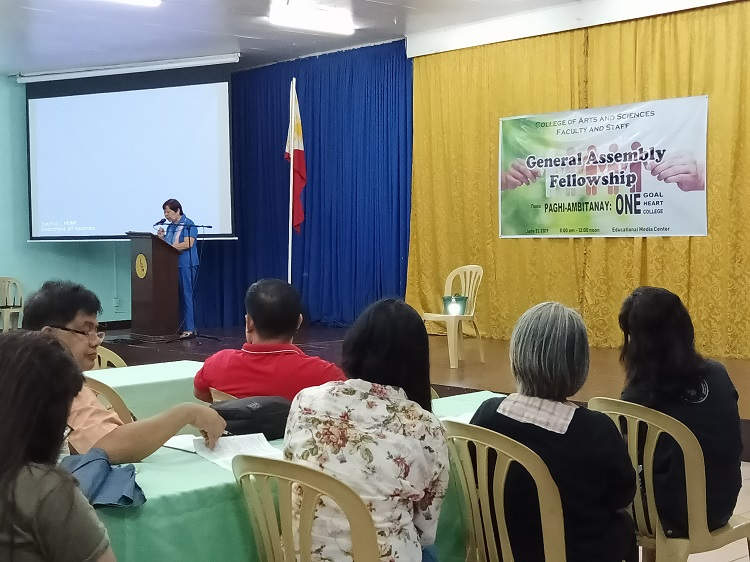 CAS General Assembly Faculty and Staff ASVP Documentation  2019