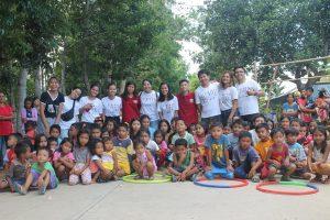 CAS Student Council- Outreach Program in San Rafael Iloilo