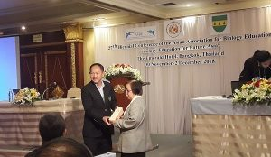 Asian Association of Biology Education AABE in Thailand